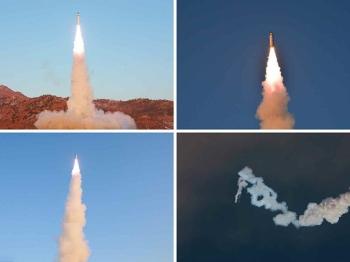 朝鲜试射新导弹 实为试探特朗普
