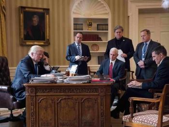 美媒曝多名特朗普幕僚 大选中频繁与俄方接触
