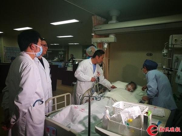 空地对接 成功抢救肝硬化上血并呼吸停止患者