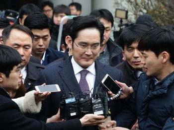 三星掌门人李在镕今晨被捕 朴槿惠受贿案或有突破