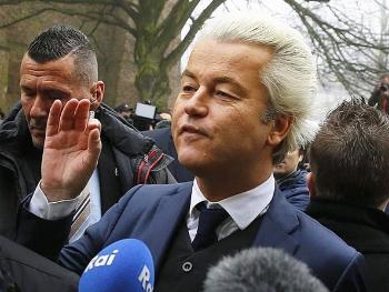 """荷兰右翼领导人骂移民""""人渣""""为竞选造势"""