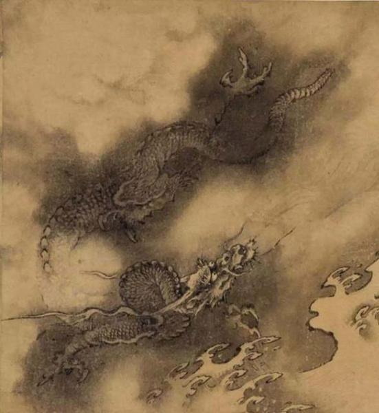 陈容《六龙图》手卷(局部)3.jpg