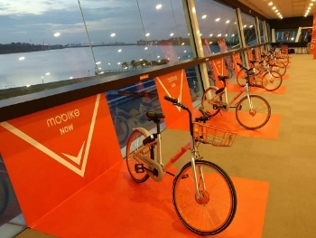 摩拜单车开启海外扩展在新加坡正式运营