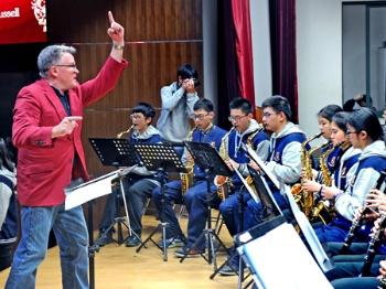 【照片里的故事】一堂特别的音乐课
