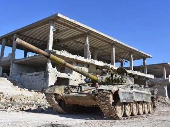 【战例】五万叙利亚政府军血战收复阿勒颇