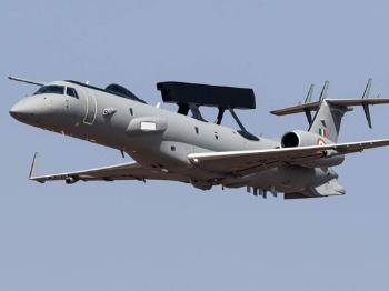 【兵器】印度空军国产新型预警机公开亮相