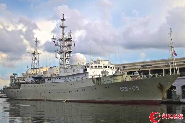 【兵器】逼近美国近岸公海的俄海军侦察船