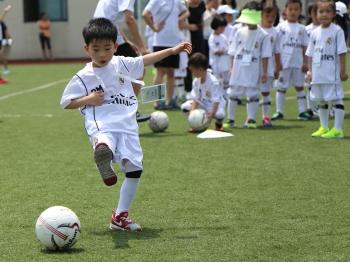 皇马(中国)青少年足球训练营今年暑期在沪开营