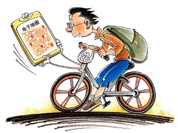 独家述评丨共享单车不止需要电子地图