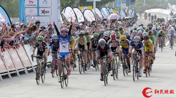 """环岛赛""""一票难求"""" 女子公路自行车赛下月崇明鸣枪"""