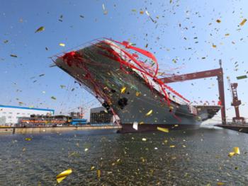 今日焦点丨我国首艘国产航母今9时下水
