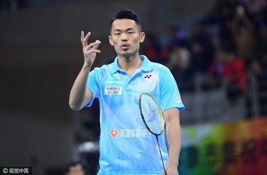 羽超联赛薪水分文未得 林丹发声明向粤羽俱乐