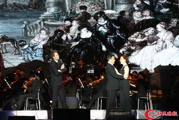 歌剧《唐璜》日前上演 上海国际水岸音乐会开