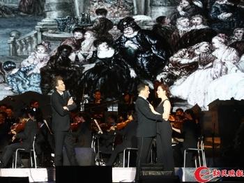 歌剧《唐璜》日前上演 上海国际水岸音乐会开幕