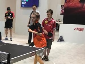 【文体社会】周周有比赛 人人会打球 德国乒乓球运动热火朝天