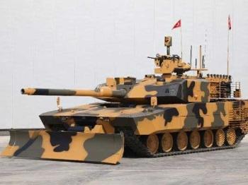 """【兵器】土耳其""""阿泰-AHT""""城市战坦克"""