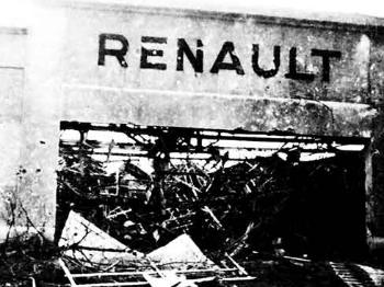 【战例】75年前,英国空军炸平法国汽车厂