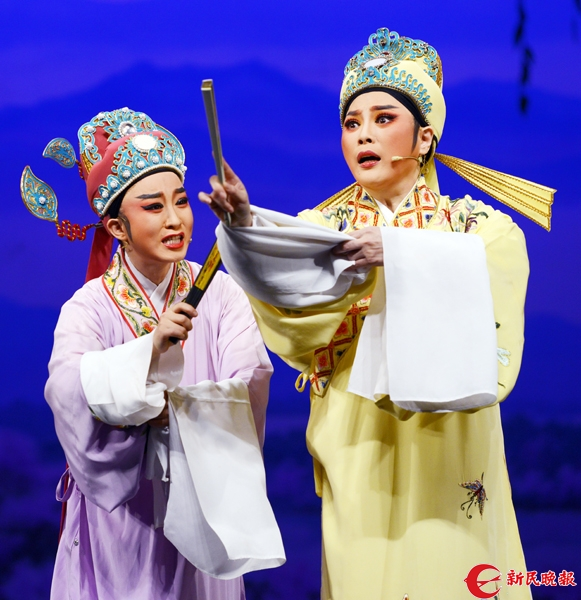萧雅演出越剧《盘妻索妻》一场景 胡晓芒.jpg