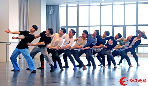 舞蹈诗《天边的红云》昨在加紧排练中-郭新洋.jpg