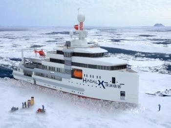 我国首艘民资建造极地科考探险船将在上海诞生