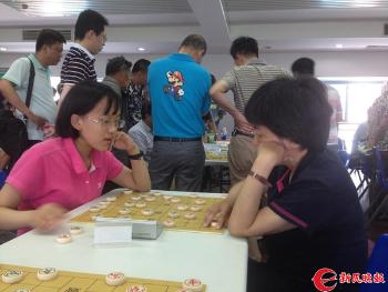 【文体社会】上海象棋界传佳话 母女棋手同上全运会