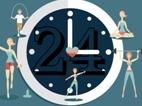 【文体社会】探访沪上24小时健身房 深更半夜有人来这里出出汗