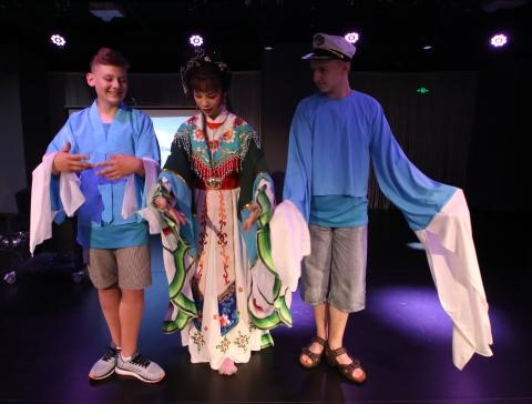 2017上海国际友好城市青少年夏令营开营