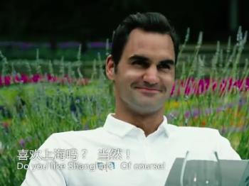 上海大师赛又将开打 费德勒秀中文约你不见不散