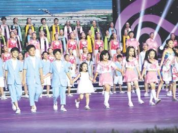 """钱圩中学""""田之声""""合唱团亮相中国少年儿童合唱节"""