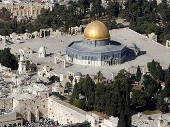 绝不允许设安检门 巴勒斯坦:对阿克萨清真寺拥有主权