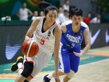 女篮亚洲杯中国队两连胜 将向冠军发起冲击