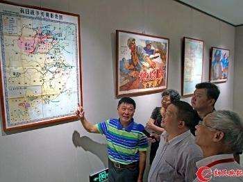 """申城两场建军90周年展举行,讲述""""光荣与梦想"""""""