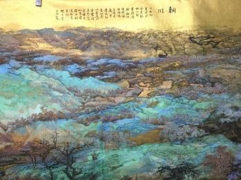 【文体人物】山水画家的扇上烟云 萧海春专访