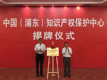 """中国(浦东)知识产权保护中心成立 开启专利快速审查""""绿色通道"""""""