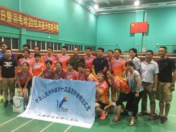 【夏练三伏】上海业余羽毛球队:没想到能参加全运会