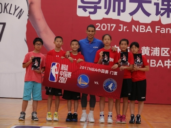 """林书豪变身导师:青少年篮球不能只学""""花架子"""""""