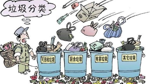 """干湿垃圾桶不再""""摆样子"""" 沪首次因垃圾分类""""开单"""""""