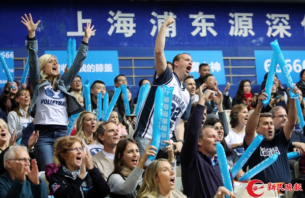 以后看上海男篮,就要去新的源深专业篮球馆了!