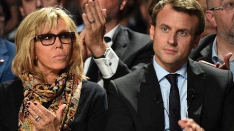 """马克龙要给太太一个""""名分"""" 法国人为啥不答应?"""