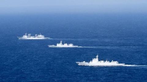 中俄海军波罗的海军演剑指何方?