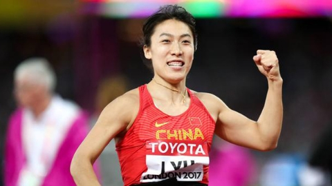 吕会会女子标枪破纪录 谢文骏无缘110米栏决赛