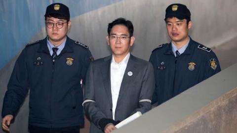 韩检方要求法院判处三星副总裁李在镕12年刑期