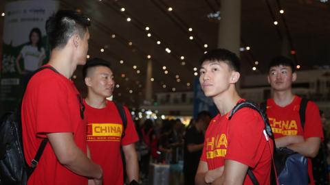 中国男篮蓝队出战亚洲杯:既要理想成绩 又要锻炼新人