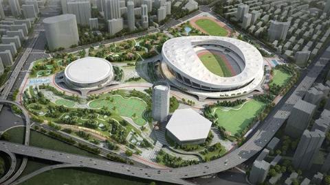 徐家汇体育公园全面开工:将成为上海人的新回忆
