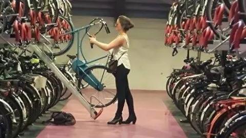 """【四海城事】""""小荷兰""""又破""""大纪录"""" 最大自行车停车场分批开放"""