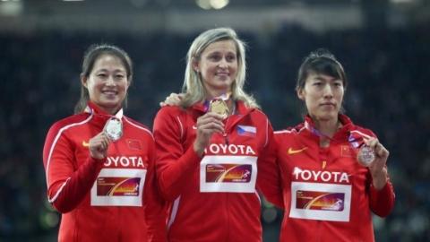 中国女子标枪收获一银一铜!神力是如何练就的?
