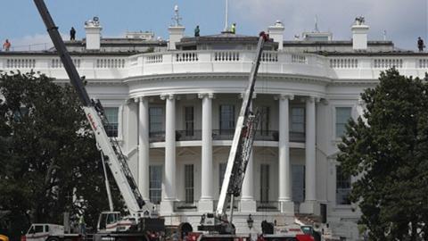 总统度假去了 白宫17天要完成70年最大装修