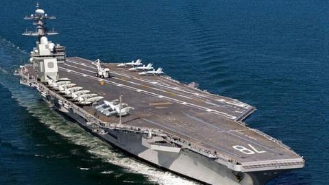 美宣布明年将派航母访问越南