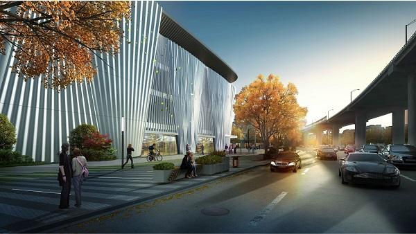 宛平剧院有望于2019年底建成:如一把折扇吹送