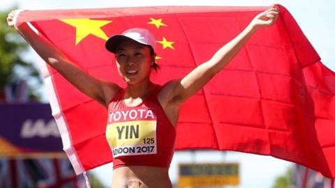 厉害了!中国女子竞走一天之内收获金银铜
